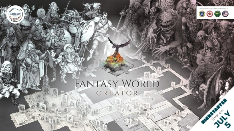 Fantasy World Creator