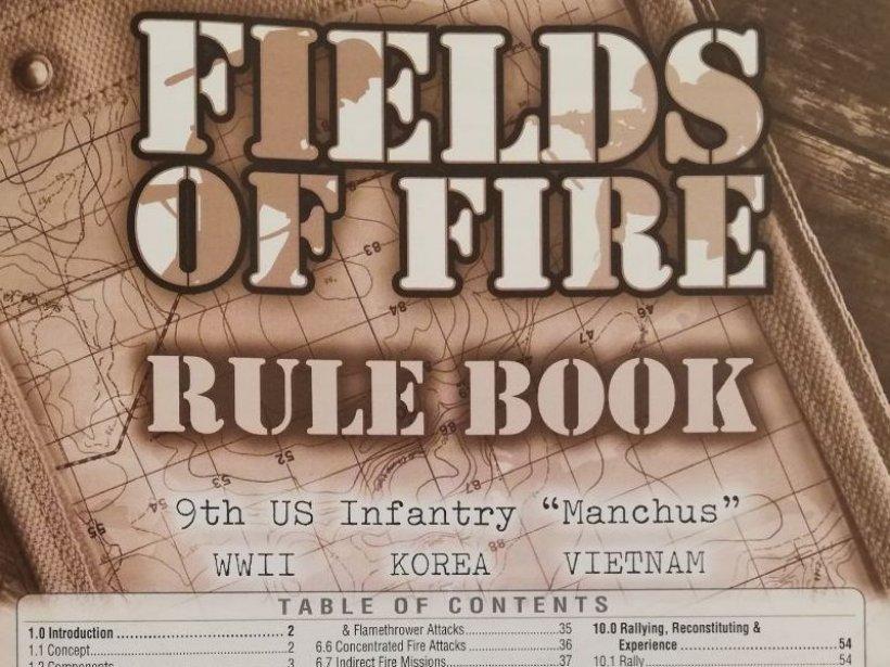 Fields of Fire: regolamento