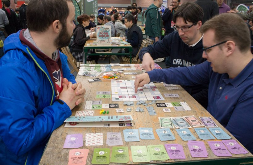 Partita a Food Chain Magnate a Play Modena