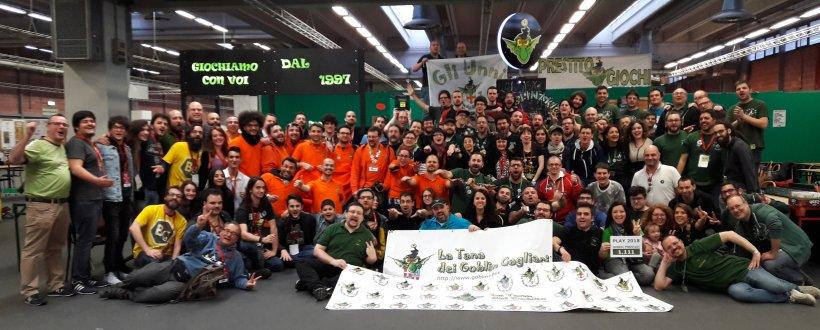 La Tana dei Goblin a Play 2018!