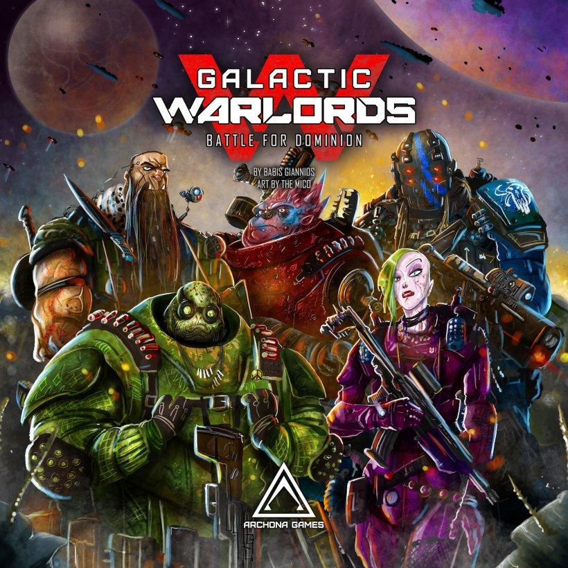 Copertina del gioco da tavolo Galactic Warlods: Battle for Dominion