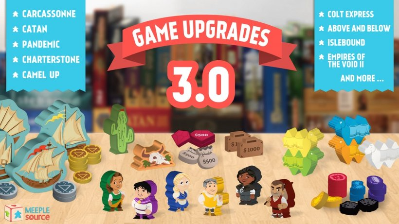 Game Upgrades 3.0 by Meeple Source!