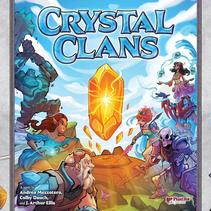 Crystal Clans: copertina