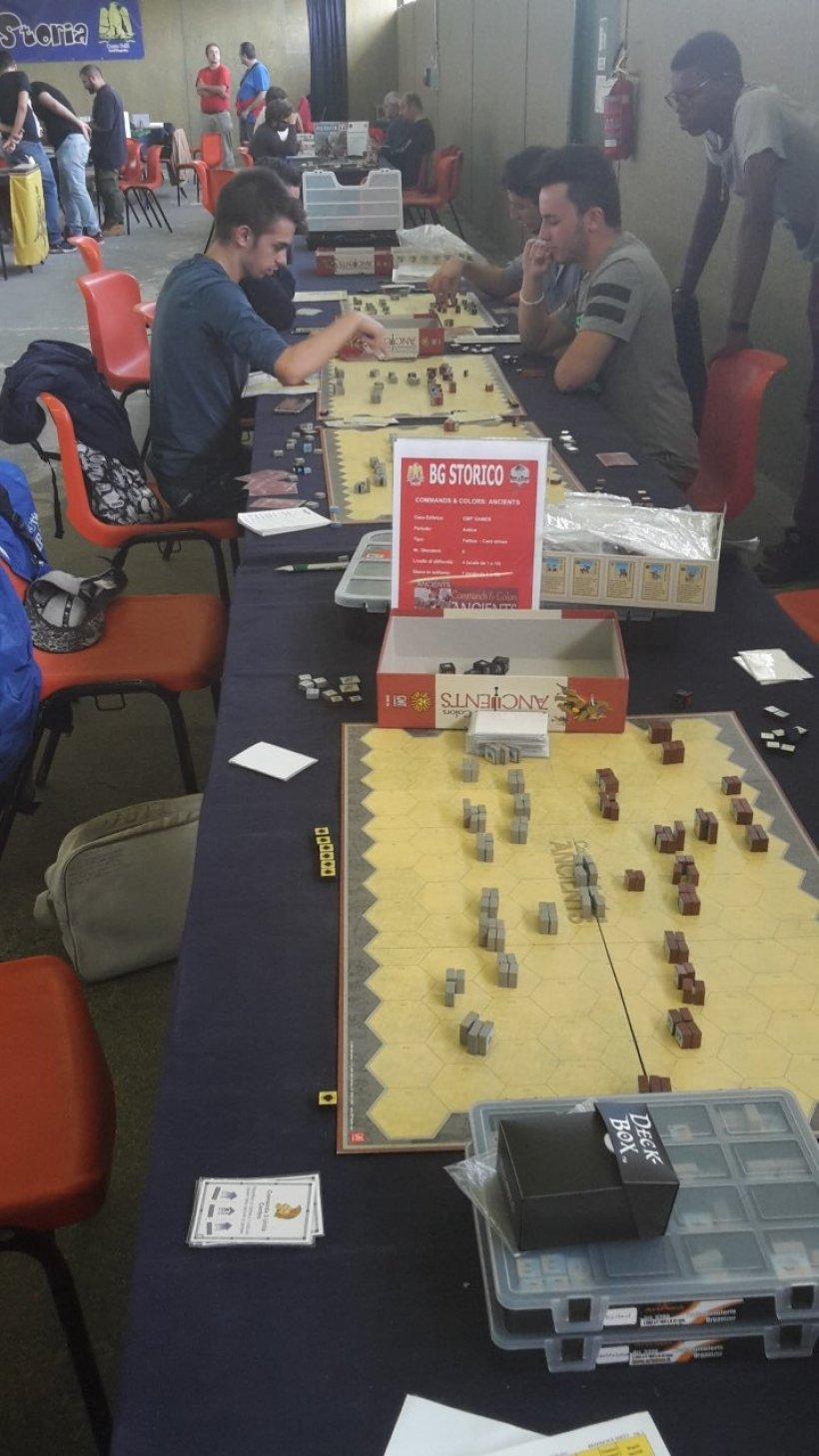 Gioco & Storia: tavoli