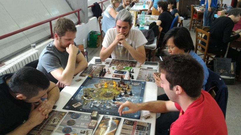 Botte da orbi con i vichinghi di Blood Rage