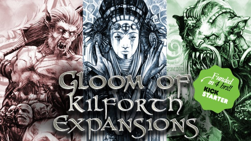 Gloom of Kilforth: A Fantasy Quest Game Expansions