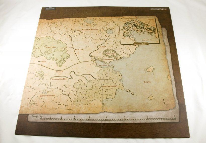 Mappa di Gloomhaven