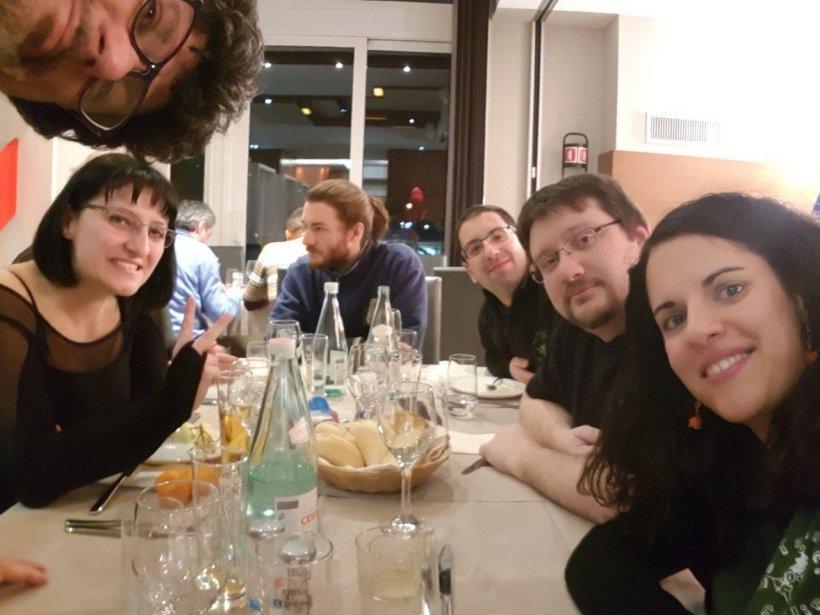 a cena il venerdì: Lobo, Vania, Finex, need2revolt, Jones, Pupina