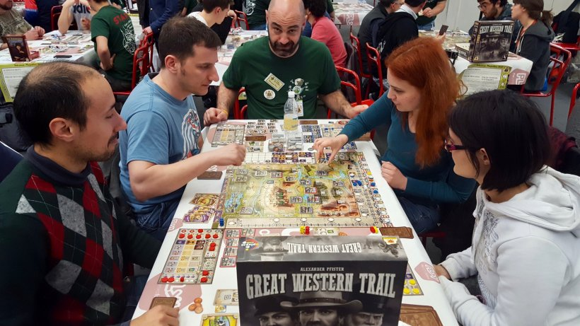 Great Western Trail: tavolo al Magnifico 2017