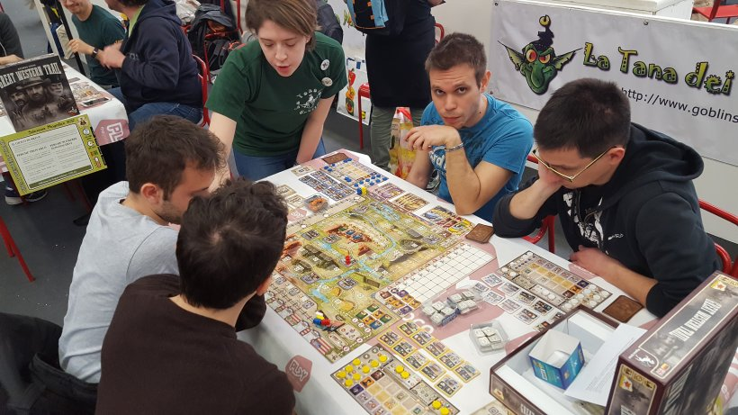 Great Western Trail: tavolo demo al Magnifico 2017