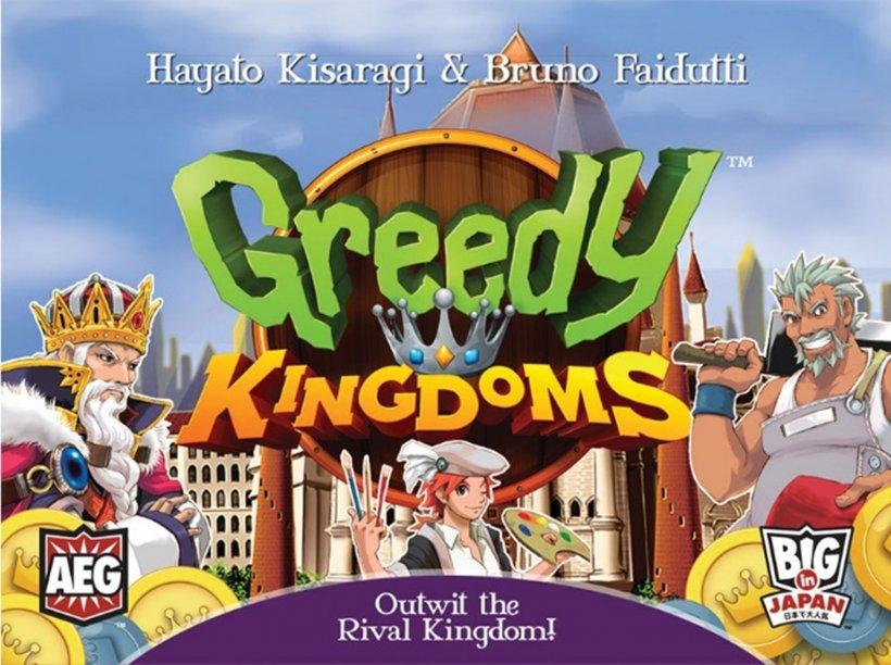 Greedy Kingdoms: copertina