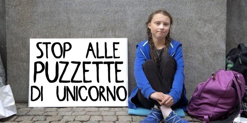 Greta kills the unicorns