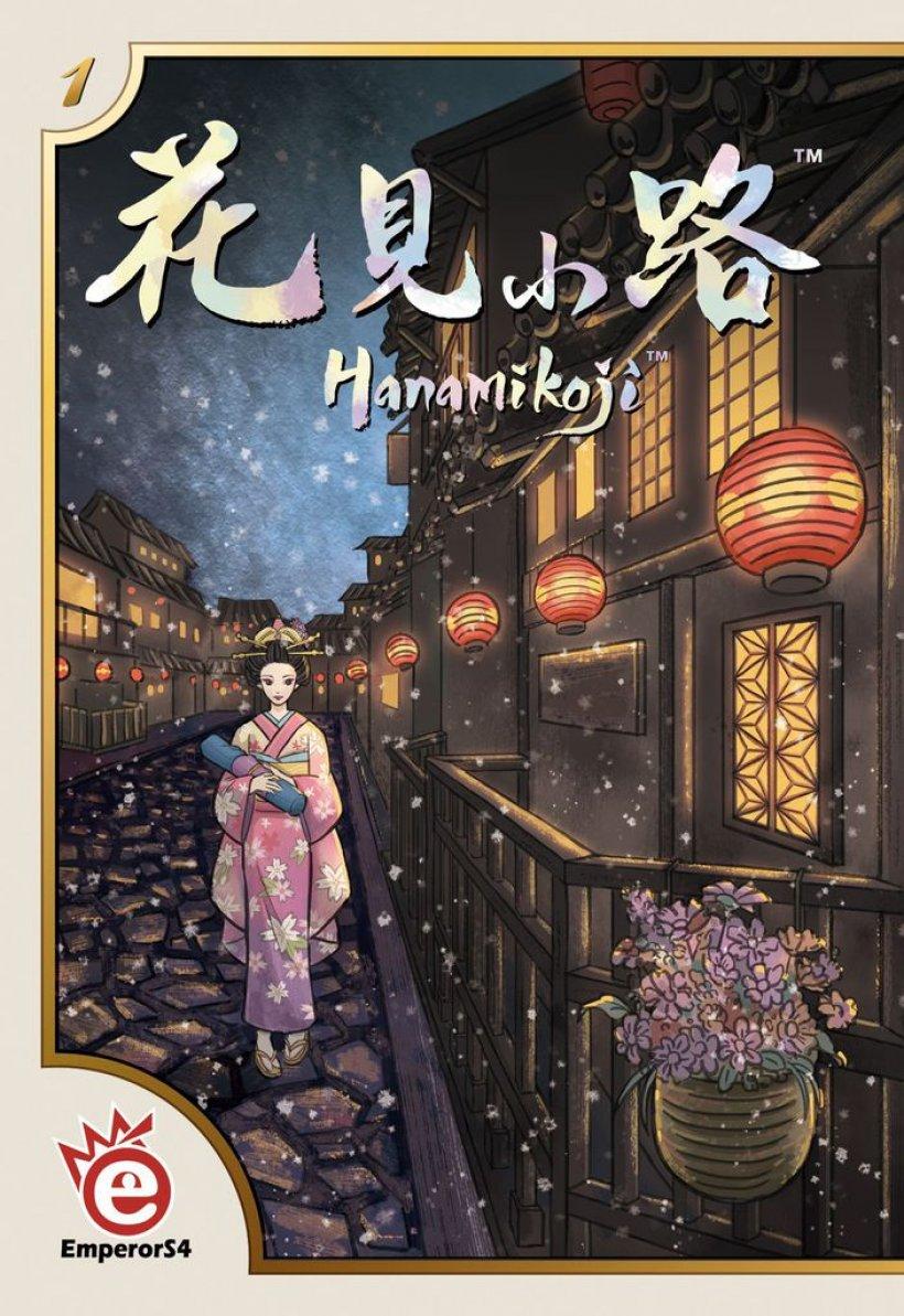 Hanamikoji, fronte scatola