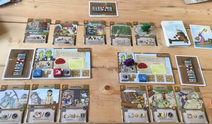 Harbour: partita a due giocatori