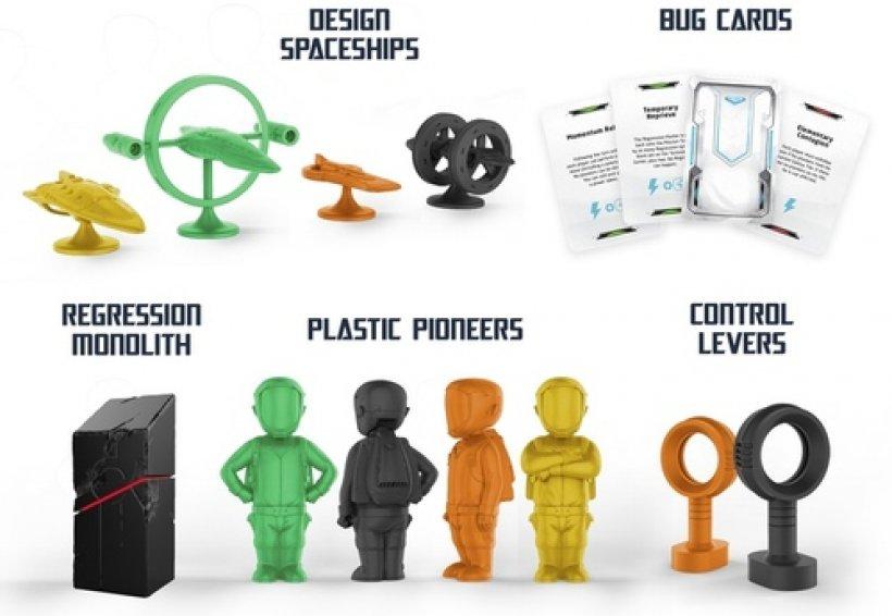 HOPE: pezzi in plastica