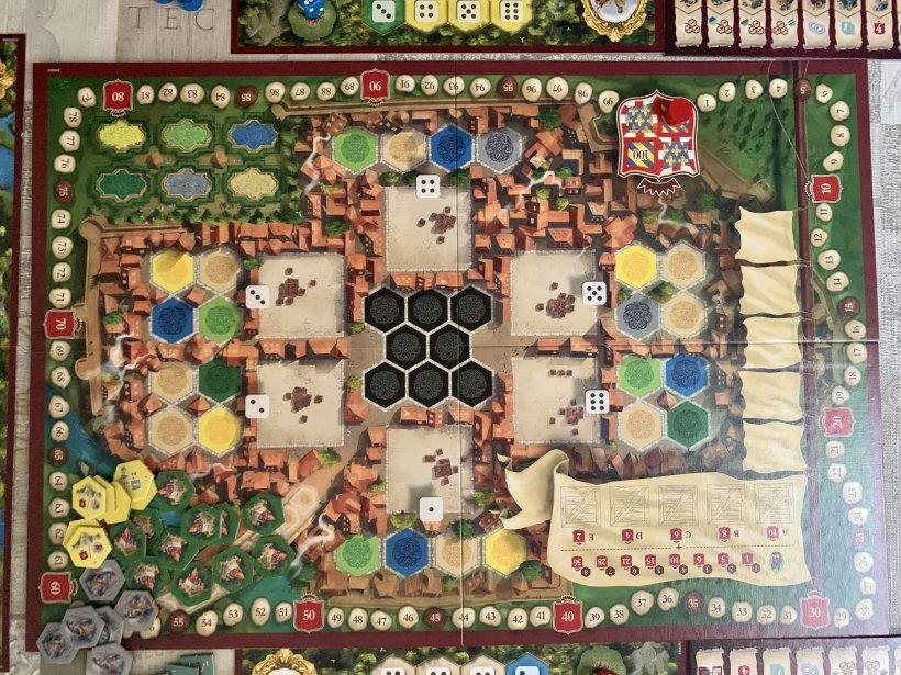 The Castles of Burgundy (20th Ann) - Tabellone