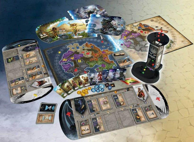 Immortals: materiali di gioco
