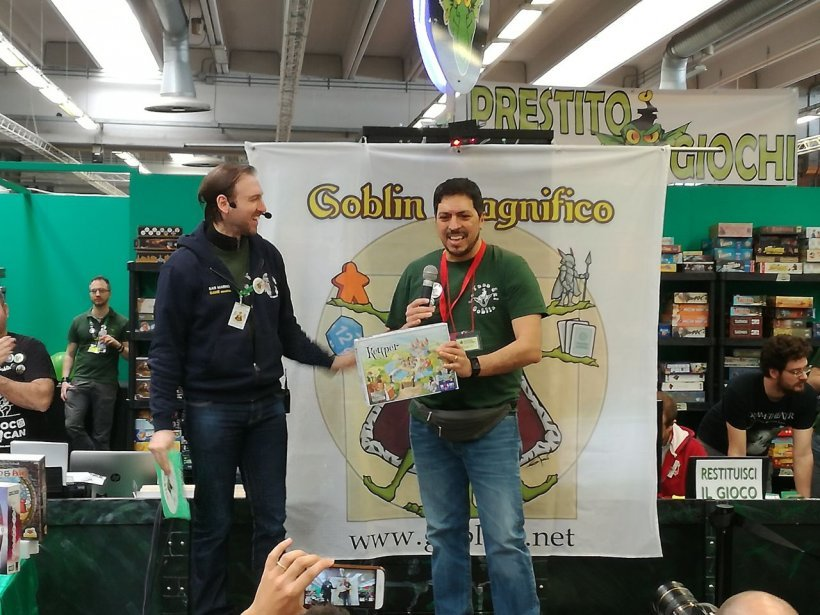 Goblin Magnifico: ...and the winner is