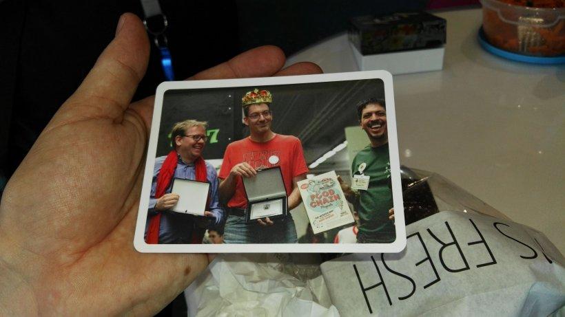 Kiek: foto della premiazione al Magnifico con Peppe74