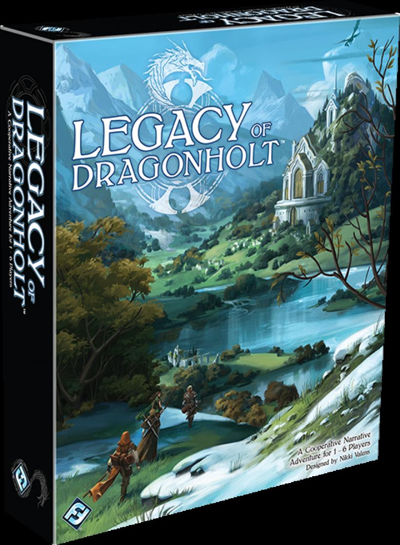 Legacy of Dragonholt: copertina
