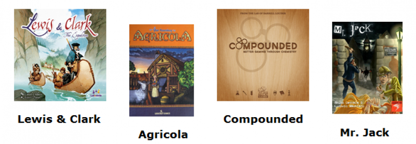 Lewis & Clark, Agricola, Compounded, Mr. Jack