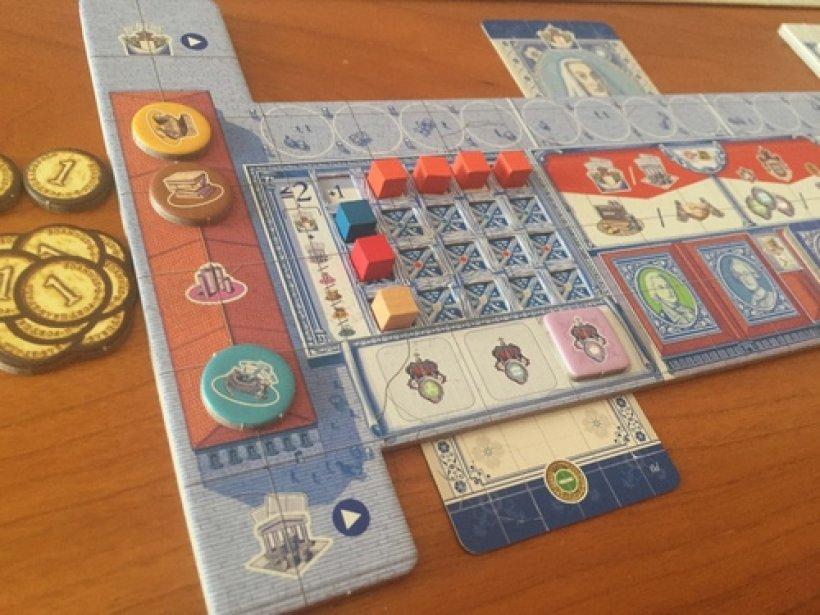 Lisboa: plancia giocatore