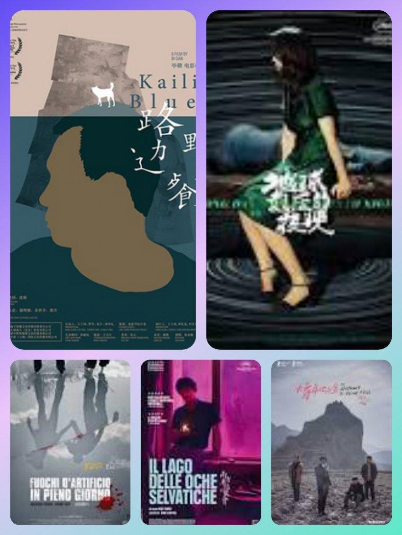 Locandine dei cinque film