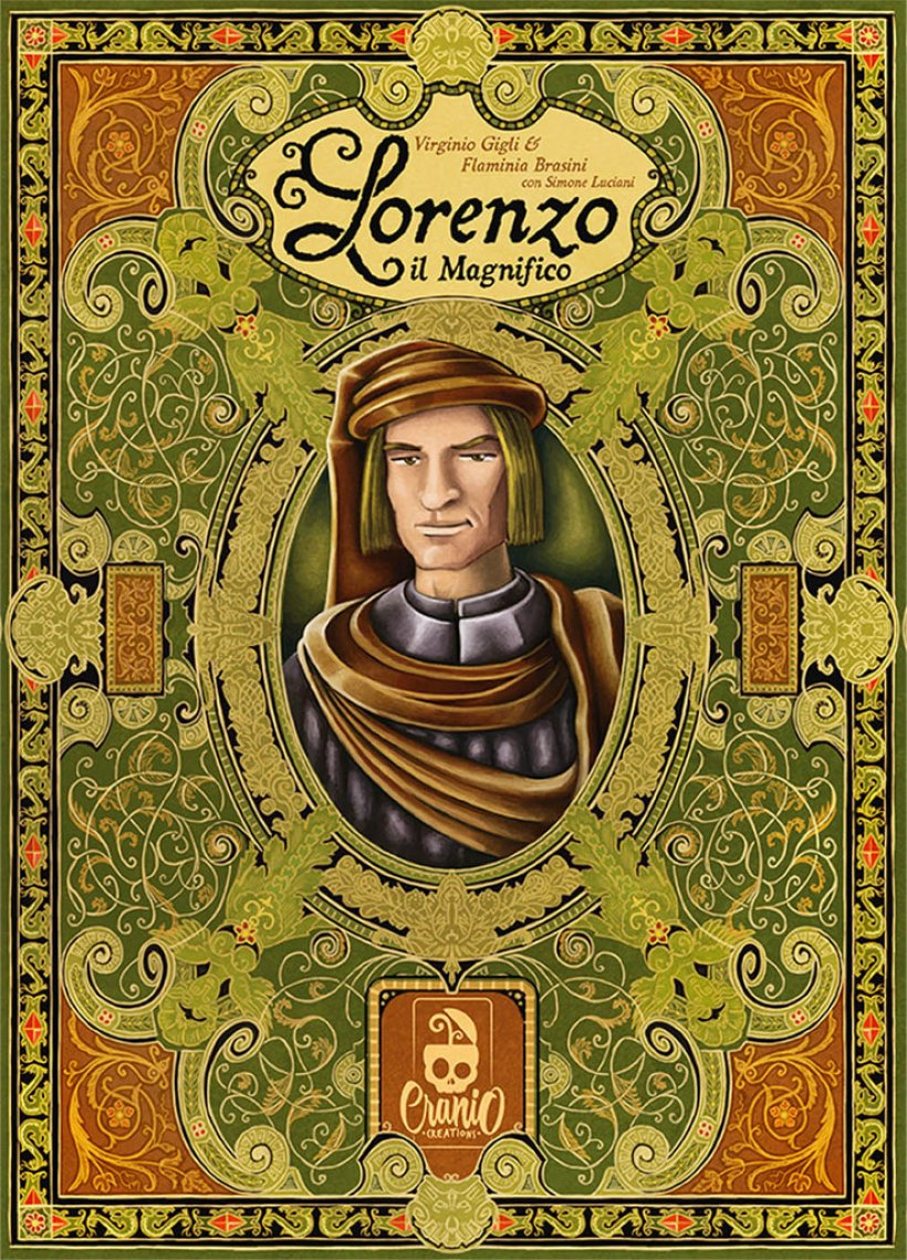 Copertina del gioco in scatola Lorenzo il Magnifico