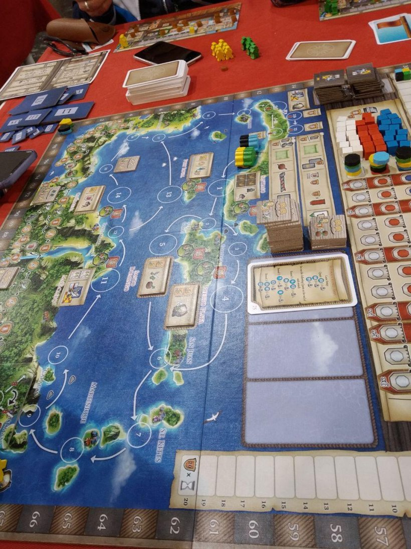 Pennuto ad Essen: Maracaibo