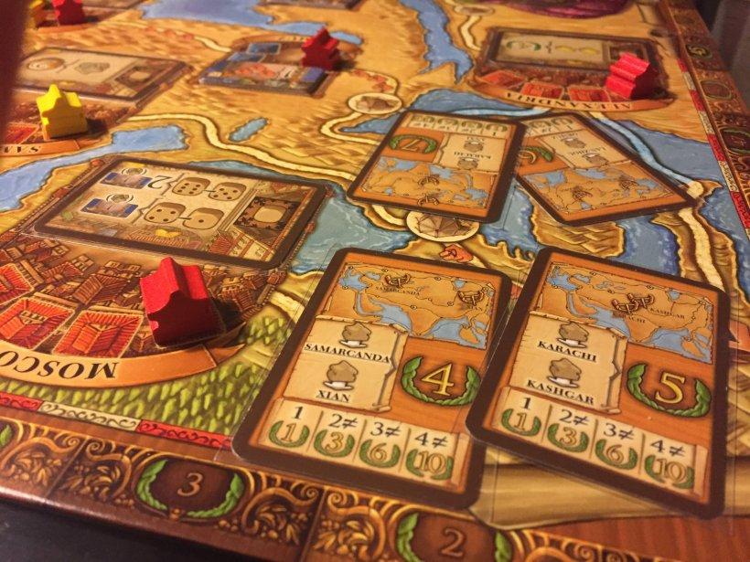 Le carte obiettivo del gioco