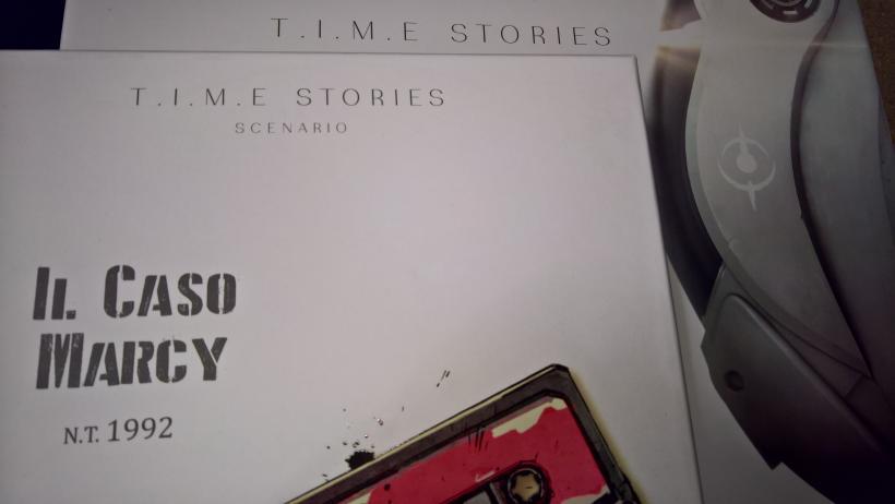 Marcy Case e Time Stories: copertine