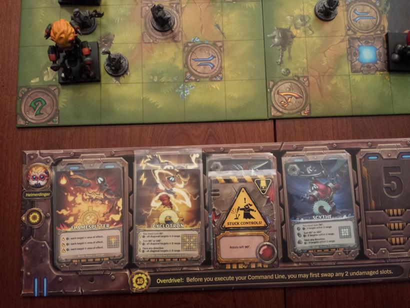 Mechs vs Minions: command cards
