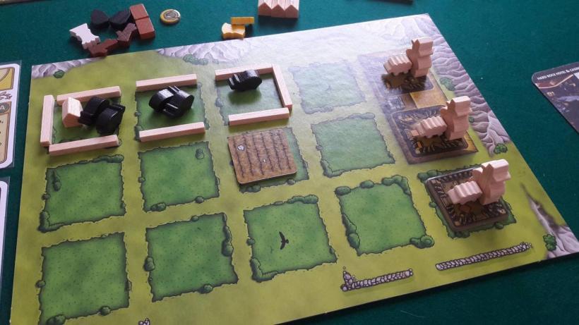 Agricola nuova edizione: dettaglio di una fattoria