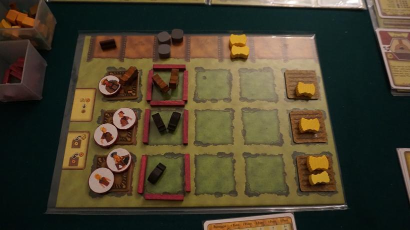 Plancia finale di un giocatore di Agricola