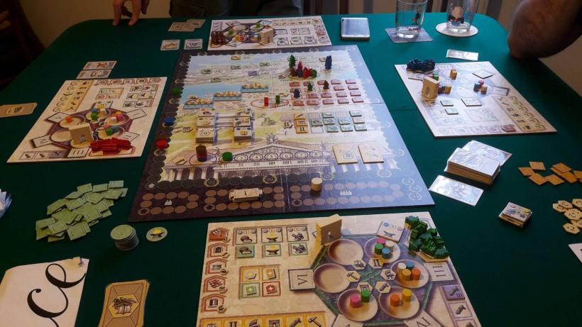 Trajan, intervallo, Roma: manca...la biga