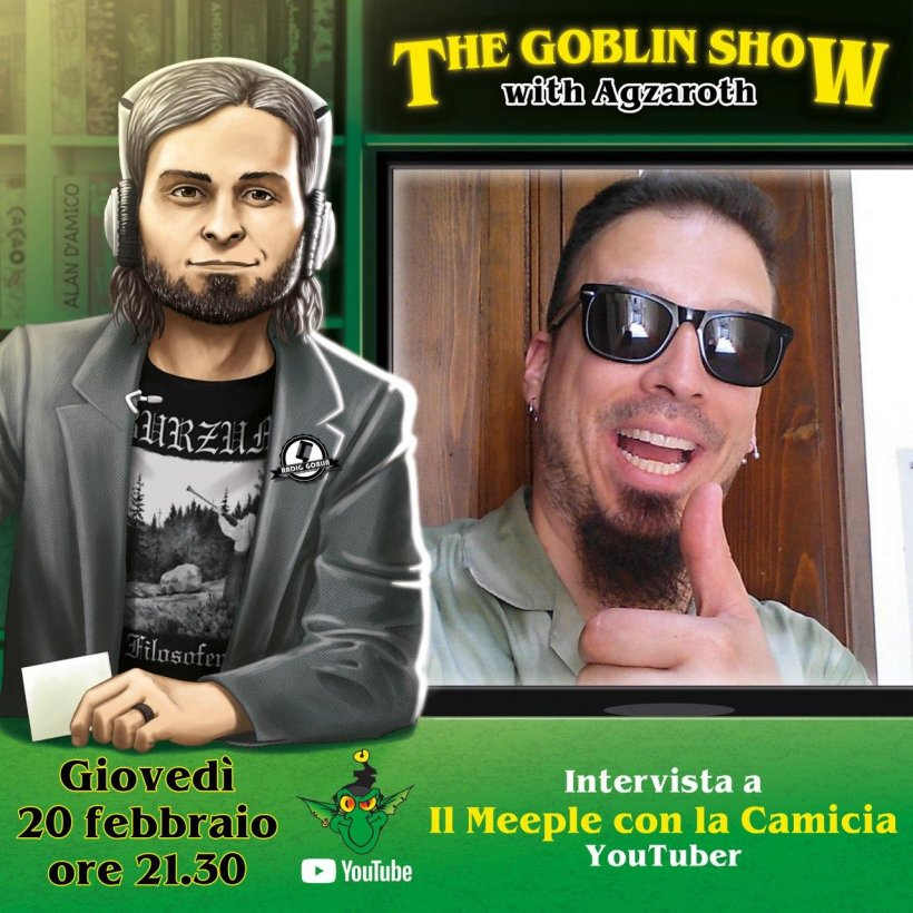 The Goblin Show: Il Meeple con la Camicia
