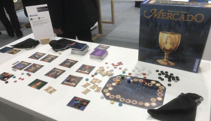 Mercado: materiali di gioco