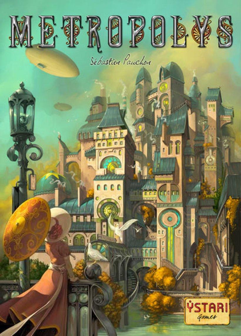 Copertina del gioco in scatola Metropolys