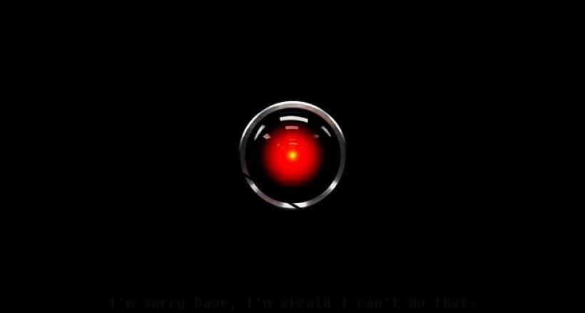 Il supercomputer Hal 9000, in 2001: Odissea nello Spazio.