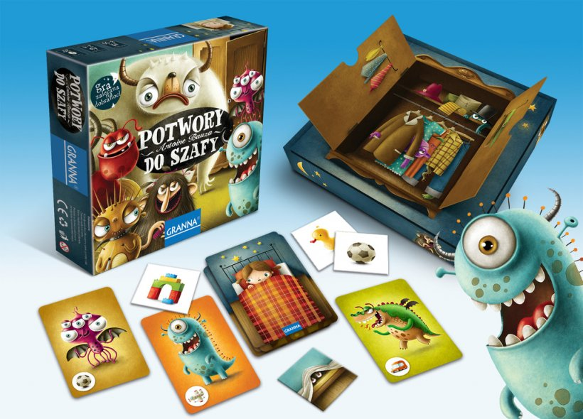 Monster Chase: materiali di gioco