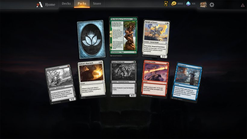 Magic The Gathering Arena - Apertura bustina