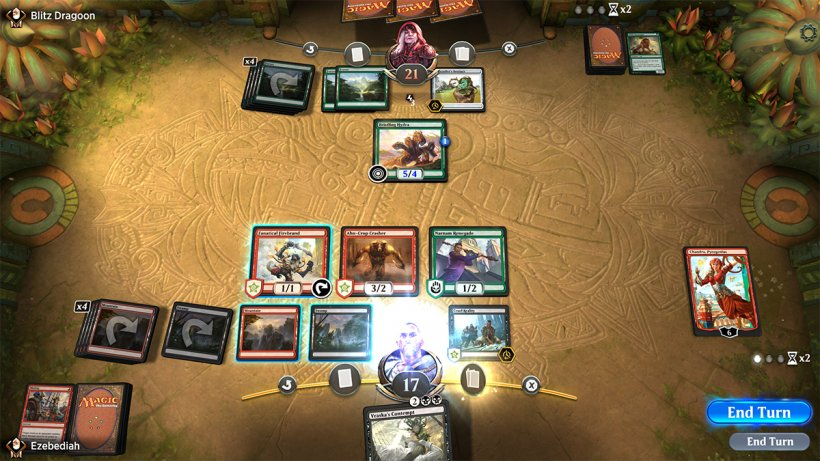 Magic The Gathering Arena - Campo di battaglia