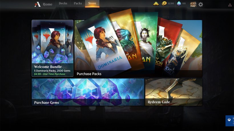 Magic The Gathering Arena - Il negozio digitale del gioco
