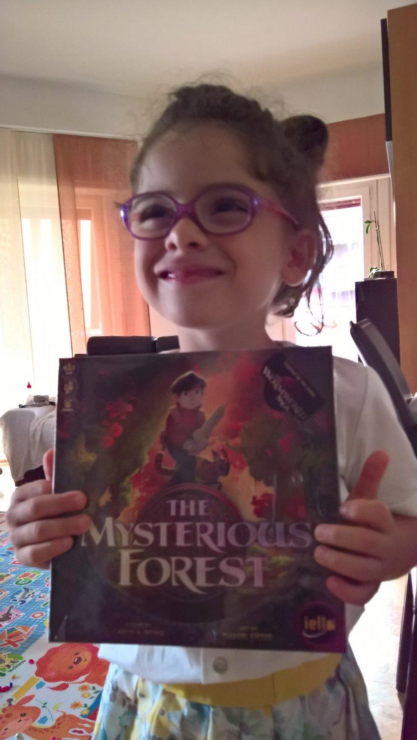 The Mysterious Forest: Sofia con la nuova scatola