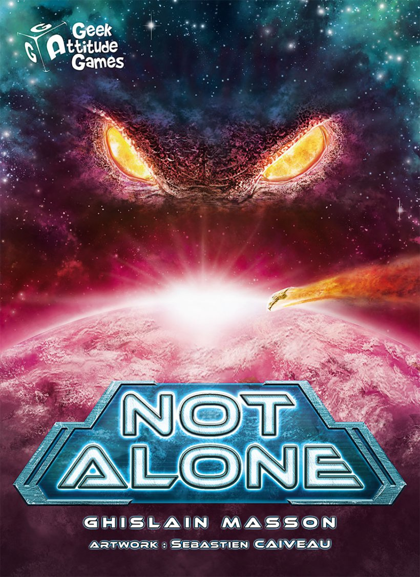 Copertina di Not Alone, edizione italiana