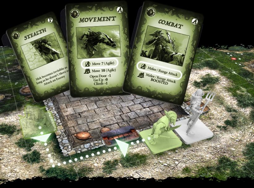 OrcQuest WarPath: carte azione base