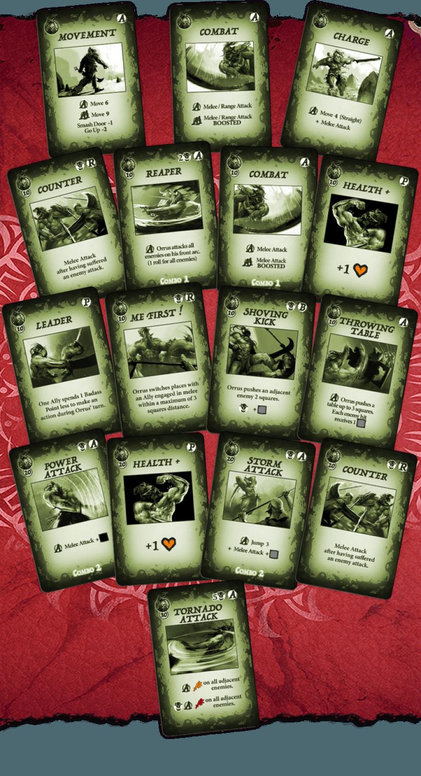 OrcQuest WarPath: possibili skill del guerriero