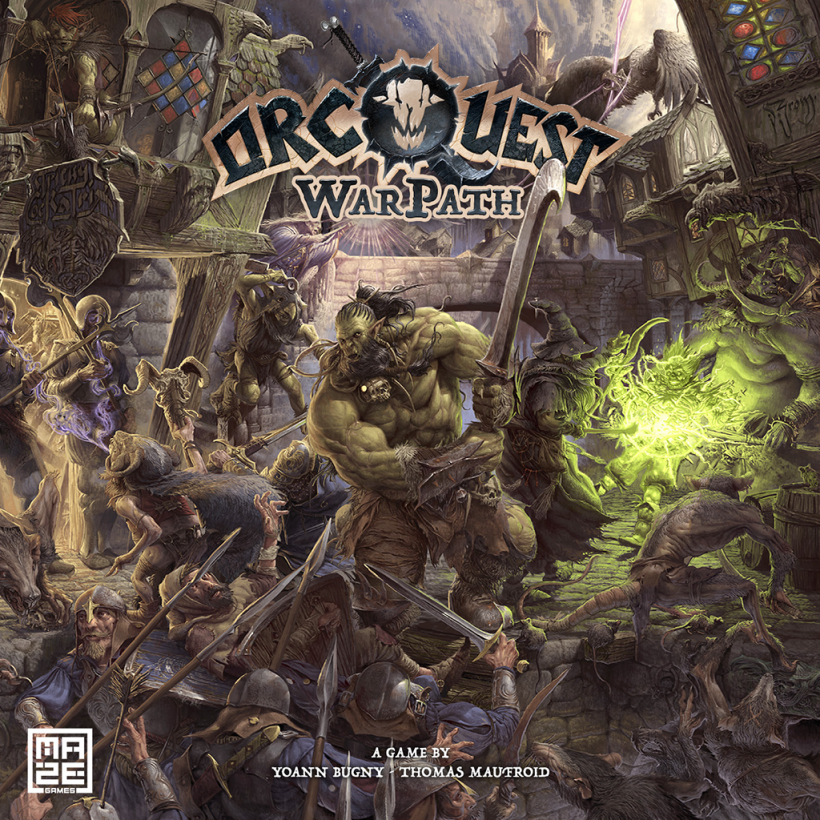 OrcQuest WarPath: copertina