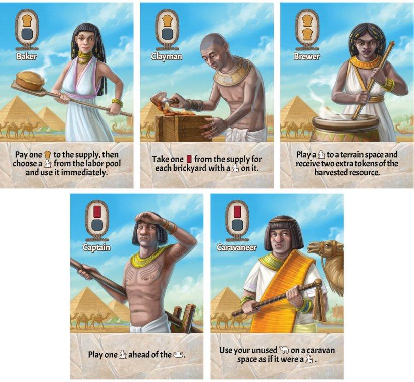 Sailing Toward Osiris: carte città