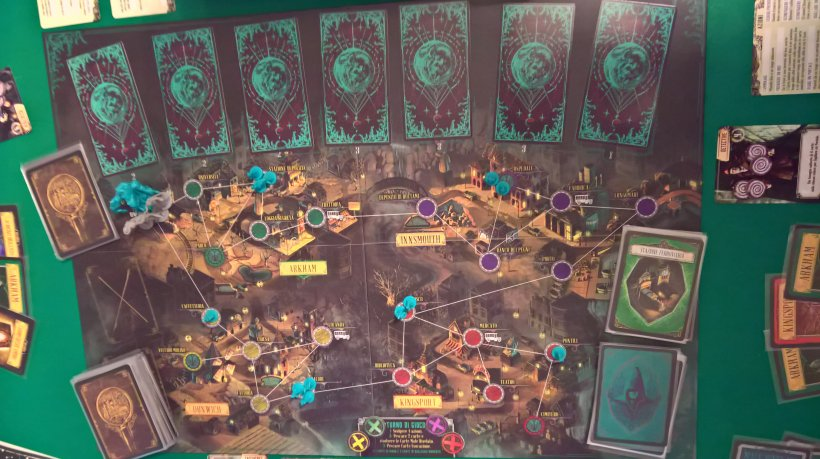 Pandemic Cthulhu: setup